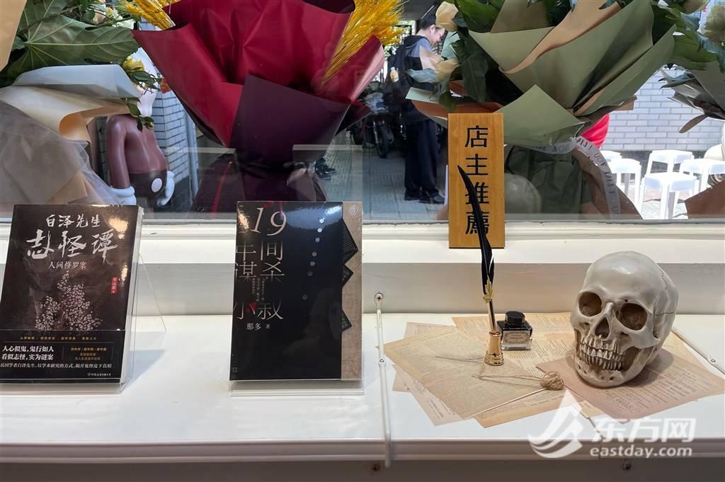 """85后作家开出上海首家侦探小说书店 不赚钱的""""孤岛""""并不孤单"""